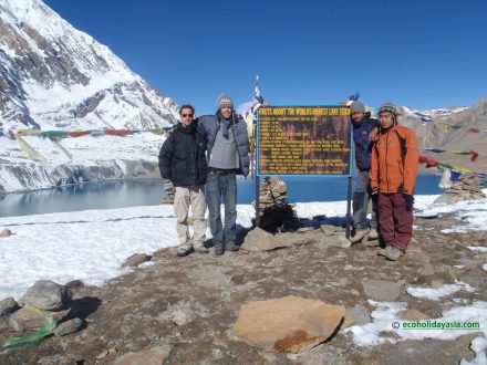 Annapurna Circuit tre with Rilicho Lake - Eco Holiday Asia