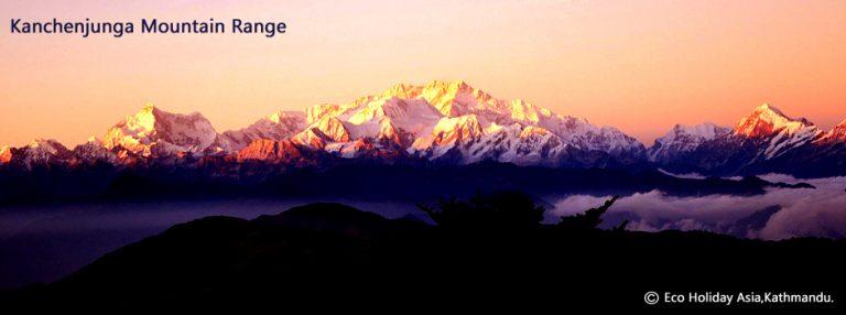 Kanchenjunga Mountain Range -Eco Holiday Asia